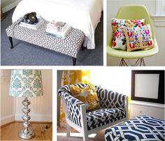 Secondhand Sprucing: Bedrooms