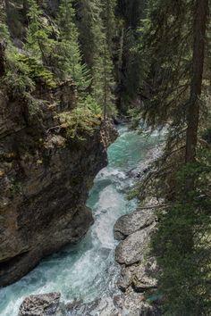 How to Find the Secret Cave at Johnston Canyon, Banff National Park | Serena's Lenses