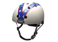 Nutcase helmet 'Superstar' - I now feel like Evil Knievel - only on a bicycle though....