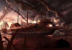 Battle Of Lepanto by RadoJavor.deviantart.com on @deviantART