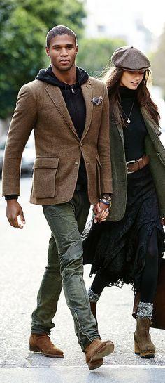Affrontez les intempéries en toute élégance avec manteaux et vestes tendances, et autres pièces de prêt-à-porter signées Polo Ralph Lauren