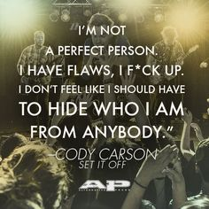 Cody Carson of #SetItOff – #quote from AP 317