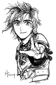 Hiccup ^.^ ♡ < I love his smile and his eyes in this. So adorable! :)