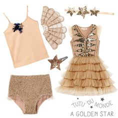 Gold and Bold! Celebrate Christmas this year with Tutu du Monde!  www.tutudumonde.com