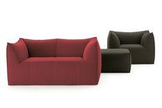 Le Bambole '07 Sofa by Mario Bellini for B&B Italia | Space Furniture - Anthea Oconnor house inside out tan leather