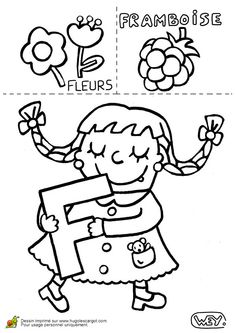 Preschool Learning Activities, Language Activities, Teaching French, Early Childhood Education, Literacy Centers, Printable Coloring Pages, Embroidery Applique, Diy For Kids, Lettering