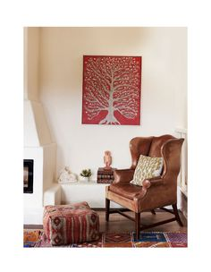 An Artist's Eclectic Home in Daylesford Living Room Decor Traditional, Traditional Decor, Traditional House, Colorful Interiors, Modern Interiors, Maximalist Interior, Daylesford, The Design Files, Global Design