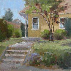 "Daily Paintworks - ""Sunny Side"" - Original Fine Art for Sale - © Beverly Bruntz"