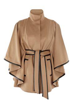 Coast. Minette cape coat. Tan