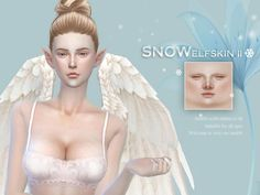The Sims Resource: Snow Elf skintones by S-Club • Sims 4 Downloads