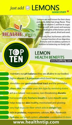 The health benefits of lemon include its use as a treatment of throat infections, indigestion, constipation, dental problems, and fever, internal bleeding, rheumatism, burns, obesity, respiratory disorders, cholera and high blood pressure, while it also benefits hair and skin care.