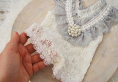 Photo prop romper lace newborn romper baby girl outfit for   Etsy