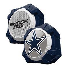 Dallas Cowboys Shockbox Bluetooth Speaker