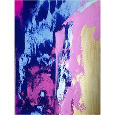 Everywhere Now Acrylic on paper 9x12 Artist- Jennifer Flannigan