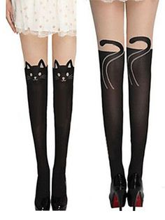 Cat Socks - Front and Back