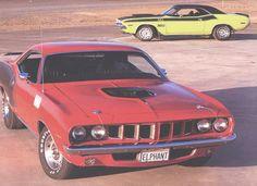 1971 Plymouth Cuda HEMI