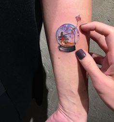 Miniature Circle Tattoos By Turkish Artist Eva Krbdk
