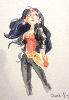 Victoria Ying, Wonder Con Anaheim! (1029×1482) http://victoriaying.blogspot.com/