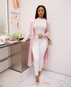 Theia lilac satin coat: // Look by Best Casual Dresses, Classy Outfits, Chic Outfits, Trendy Outfits, Work Fashion, Fashion Looks, Robes Glamour, Mode Outfits, Office Outfits