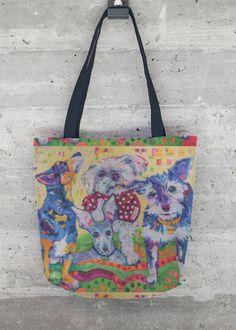 VIDA Tote Bag - Gray Face Acres Tote by VIDA lzNFFtA3k7