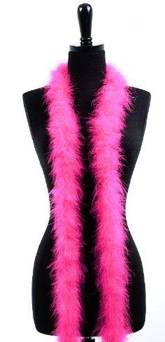 6' Adult Marabou Feather Boa - (2 boas) 7.15