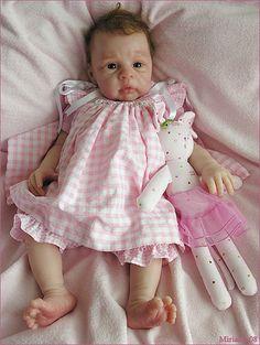 Elora (silicone baby by Eva Helland)