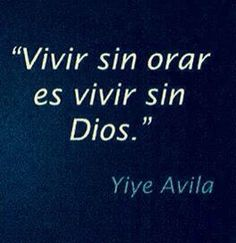 Orar a Dios