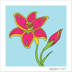 Get Colorfy™ in the app store. It's a great coloring game for adults. I'm only 12 but this app is awesome!