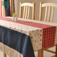 2016 Summer new A linen cloth Mediterranean table cloth factory direct sales table cover , freee shipping
