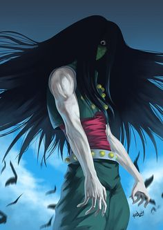 illumi zoldyck bloodlust - Google Search