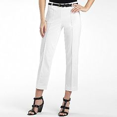 Worthington® Belted Sateen Ankle Pants - $30 everyday (many colors)