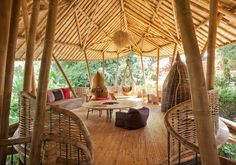 We talked to the firm's founder and CEO, Elora Hardy, about her involvement with designing bamboo buildings.