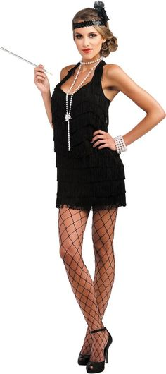 Adult Lindy and Lace Flapper Costume - Party City