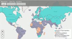 The Complete Global Map of Abortion and Birth Control Laws