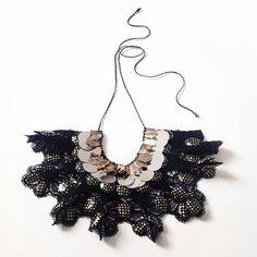 Emma Cassi black necklace