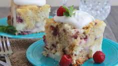 Betty Crocker SuperMoist white cake mix is transformed into a white chocolate raspberry and cream cake in your slow cooker using frozen raspberries, cream cheese and white chocolate instant pudding and pie filling.