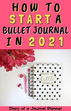 Make 2021 your most organized and productive year yet with this easy ebook guide to starting a bullet journal! #bulletjournal #Bujo #organize #startbulletjournal #bulletjournalbeginner Bullet Journal For Beginners, Bullet Journal Hacks, Bullet Journal How To Start A, Bujo Monthly Spread, Sticker Organization, Bullet Journal Printables, Bullet Journal Inspiration, Hacks Diy, Journal Pages
