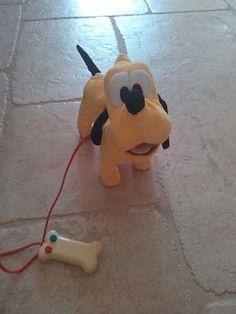 Wonder-WOW-Mam : Mickey Mouse Pluto filoguidato  La mia piccola Cl...
