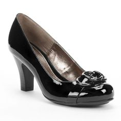 496268917185 sole (sense)ability Black WideDress Heels - Women Red High Heel Shoes