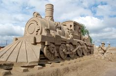 Image detail for -Panoramio - Photo of Sandcastle Train