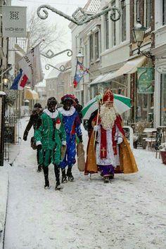 Sinterklaas en zwarte Piet- Echt Holland