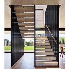 Stairway inspiration via @leticiahammerschmidt ✔️ #DesignSeek #GetInspired…