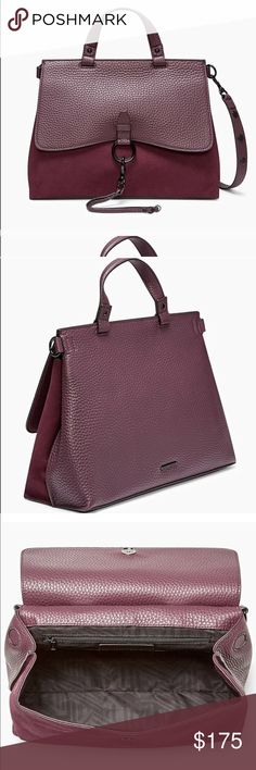 NEW Rebecca Minkoff Burgundy Leather Satchel Brand new with tags! In perfect condition. Rebecca Minkoff Bags Satchels