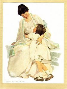 Home is in My Mother's Eyes by Jessie Willcox Smith