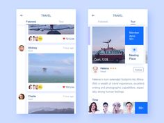 "via Muzli design inspiration. examples of content-stream layout"" is published by Muzli in Muzli - Design Inspiration. App Ui Design, User Interface Design, Flat Design, Motion App, Ui Design Inspiration, Application Design, Apps, Mobile Design, Layout"