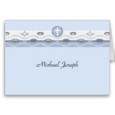 Shop Blue Harmony Photo Thank You Notecard created by PixiePrints. Baptism Thank You Cards, Thank You Card Design, Stationery Store, Personalized Note Cards, Folded Cards, Smudging, Paper Texture, Notes, Prints