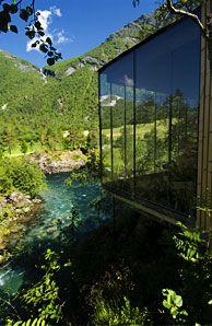 Juvet landskapshotell - Foto: Per Eide Studio