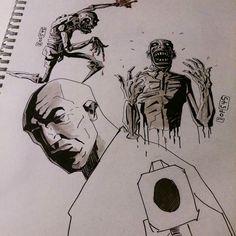 #sketch #comics #ink #art #illustration #comic #comicbook  #dailysketch