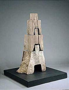 David Nash, tongue and groove sculpture