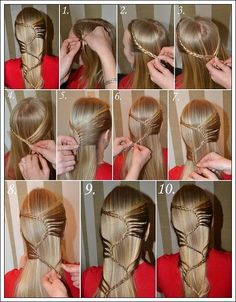how to make hair style 1000 images about hairstyle with brades on 8749